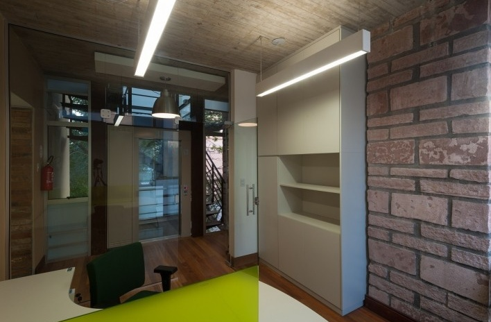 Casa Lutzenberger, escritório. Reforma Kiefer arquitetos