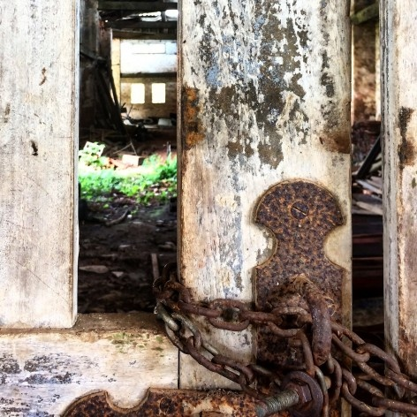Passagem interna em um dos altos fornos na Fazenda Ipanema em Iperó SP<br />Foto Bianca Siqueira Martins Domingos