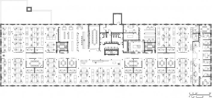 Main floor plan<br />Lemay Associés  [volume2.biz]