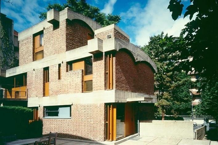 Casas Jaoul, Neully-sur-Seine, Paris, França, 1951-56. Arquiteto Le Corbusier<br />Foto divulgação  [Fondation Le Corbusier]