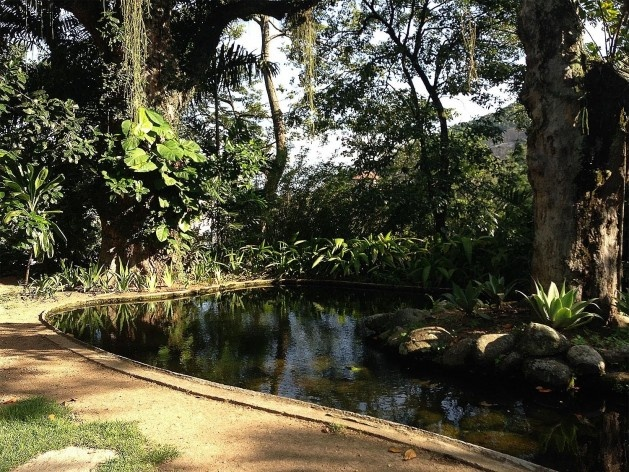 Parque das Ruínas, Paisagismo Museu Chácara do Céu<br />Foto Gustavo Henrique Campos de Faria, 2016