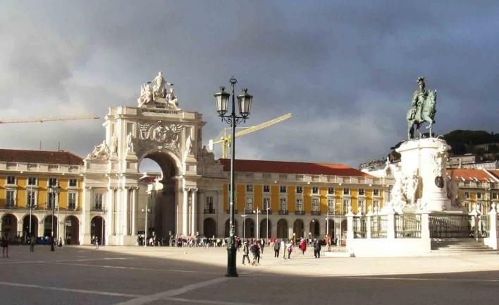 Praça do Comércio, Lisboa<br />Foto Anita Di Marco