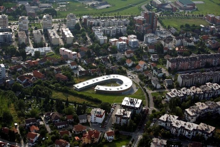 Aerial View<br />Photo Boris Cvjetanovic