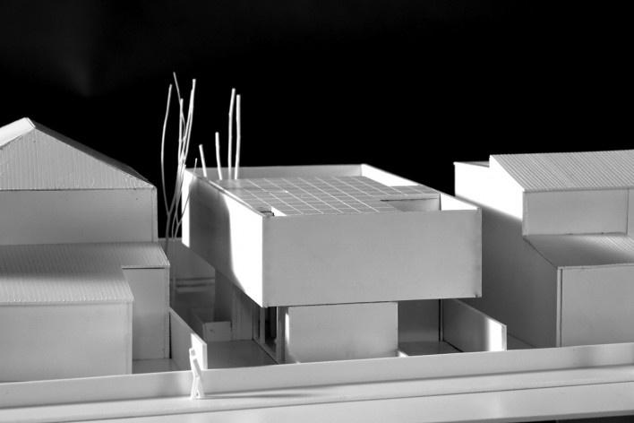 Maquete física Casa no Juso. Projeto ARX Portugal + Stefano Riva, 2011<br />divulgação