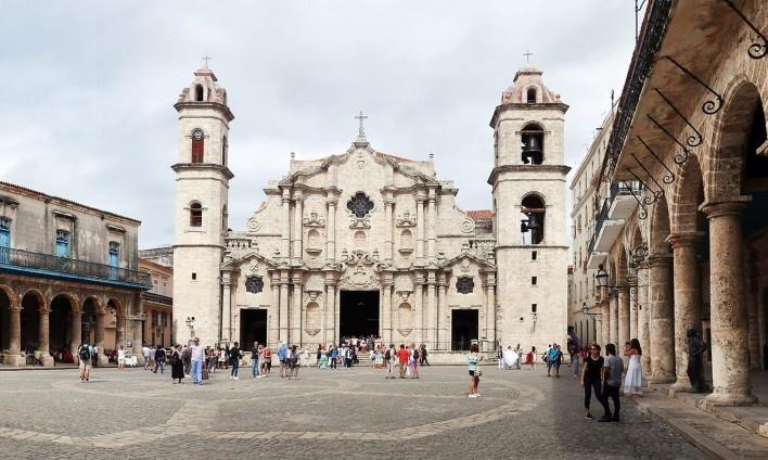 Catedral de San Cristóbal, Habana Vieja, Cuba<br />Foto Victor Hugo Mori