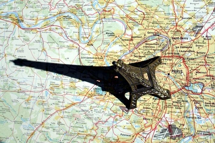 Torre Eiffel, Paris <br />Foto Michel Gorski