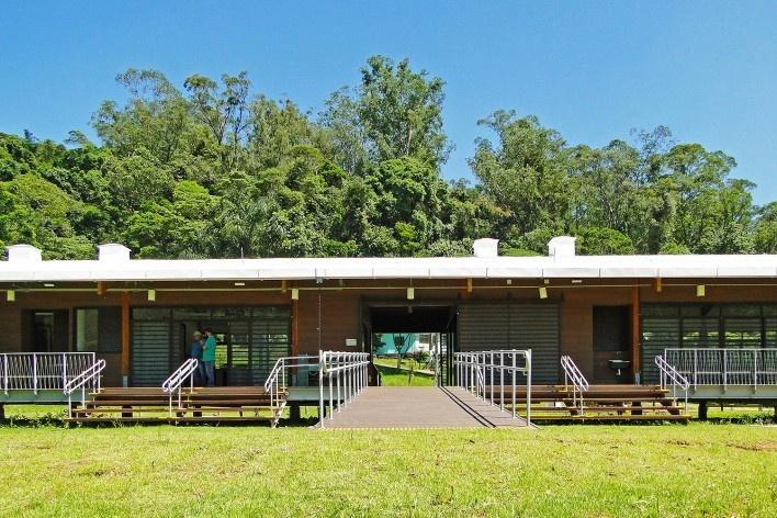 Sede Administrativa do Parque Natural Fazenda do Carmo, acessos, São Paulo, Secretaria do Verde e Meio Ambiente – SVMA, 2018<br />Foto divulgação