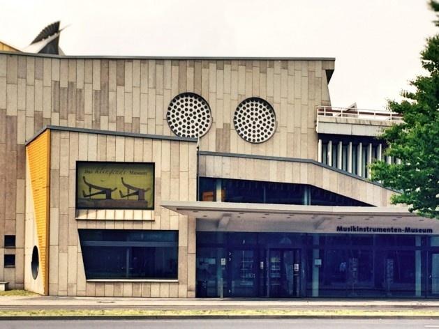 Museu de Instrumentos Musicais, Berlim, arquiteto Hans Scharoun<br />Foto Fabiano Borba Vianna, 2016