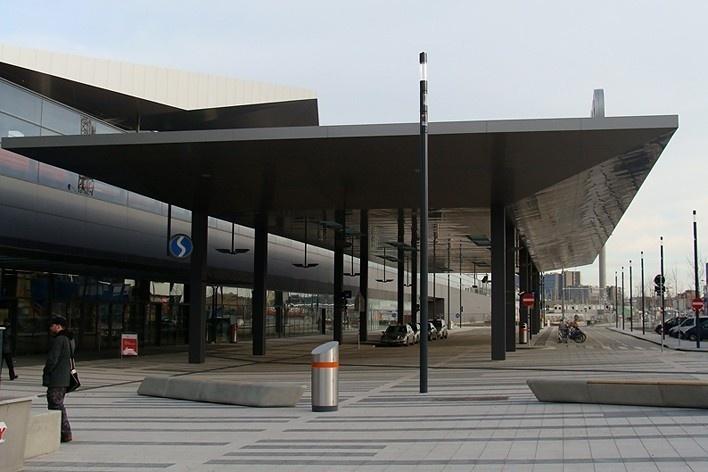 Nova Estação Central de Viena (Wiener Hauptbahnhof)<br />Foto Márcio C. Campos