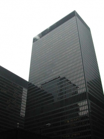 Kluczynski Federal Building, Mies van der Rohe, completado em 1975<br />Foto Carlos M. Teixeira