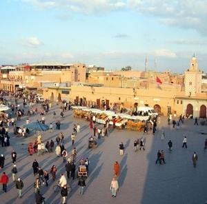 Praça Jamaa el-Fna, Marrocos<br />Foto Victor Mori