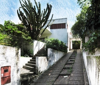 Casa Modernista na rua Itápolis, Gregori Warchavchik<br />Foto Victor Mori