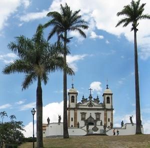 Igreja em Congonhas do Campo  <br />Fotos Victor Mori