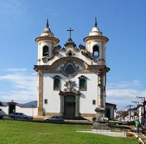 Igreja em Mariana<br />Fotos Victor Mori