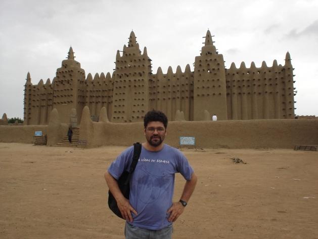 Grande Mesquita de Djenné<br />Foto Renato Barbieri