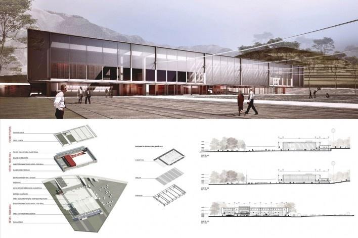 Prancha - Centro Cultural de Eventos e Exposições de Nova Friburgo [Corsi Hirano Arquitetos Associados]