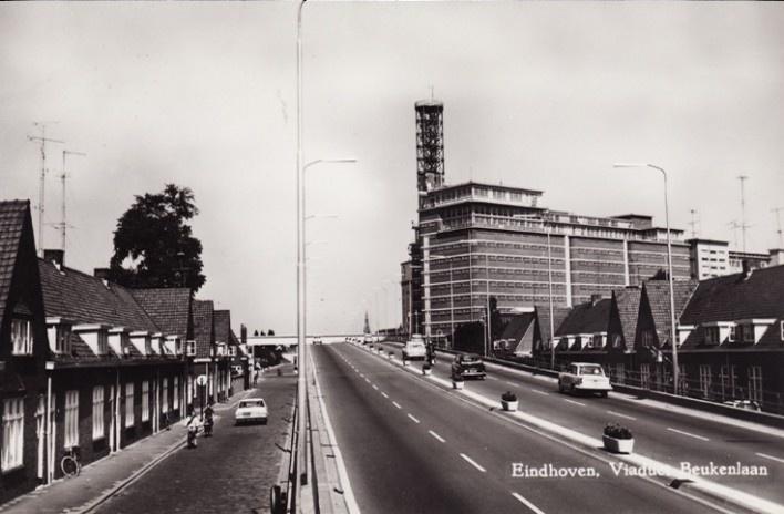 Foto histórica do Viaduto Beukenlaan, Eindhoven, Holanda<br />Foto divulgação