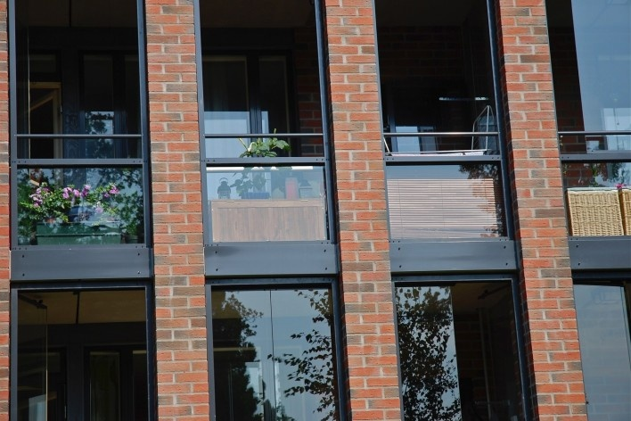 Aspecto de unidade habitacional no centro urbano<br />Foto Fabio Lima