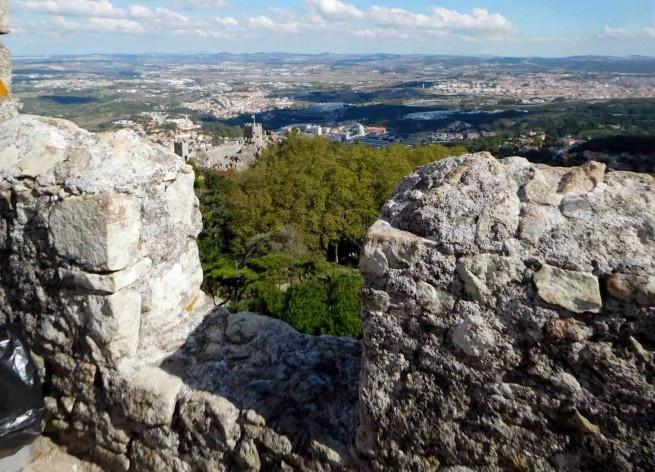 Sintra vista do Castelo dos Mouros<br />Foto Anita Di Marco