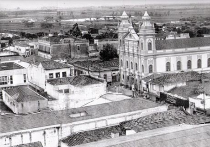 Vista geral de Pindamonhangaba no século XX