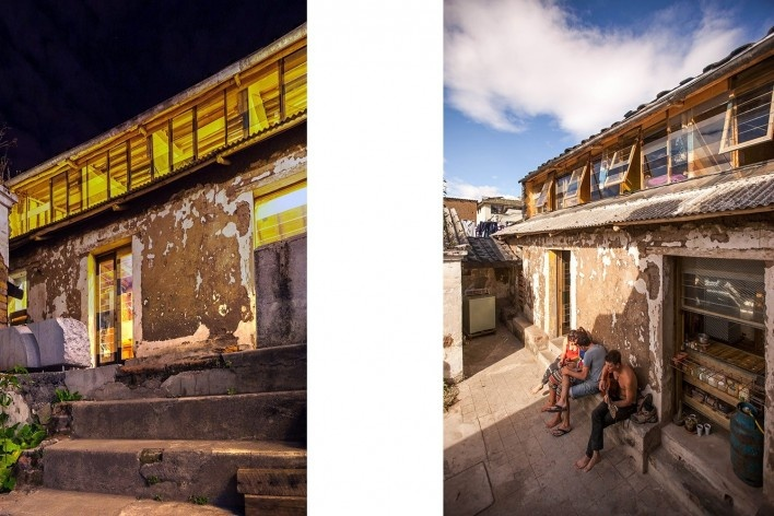 Casa en Construcción, Quito, Ecuador, 2014. Al Borde<br />Foto Raed Gindeya
