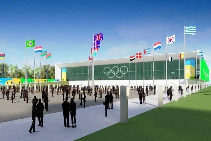 Deodoro Arena - Fencing<br />Rio 2016/BCMF Arquitetos