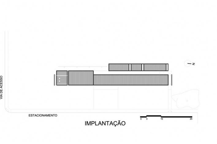 Implantação<br />Desenho do autor