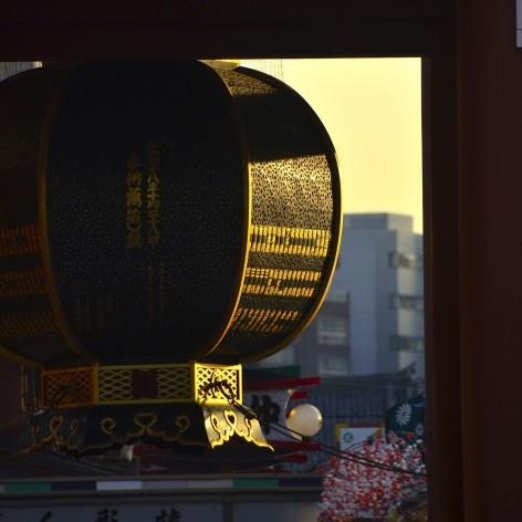 Templo Kiyomizudera, lanterna decorada no portão de entrada, Kyoto<br />Foto Roberto Abramovich