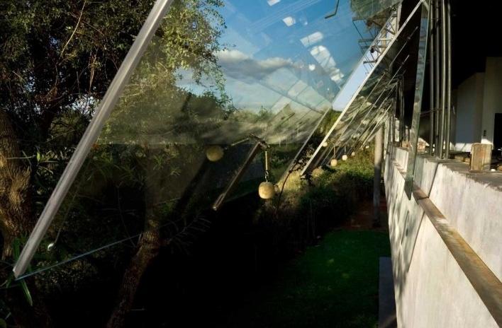 Casa en el aire. Sistema de Sujeción. Sergio Fanego, Larissa Rojas, Miguel Duarte. Luque, Paraguay. 2008-2010.