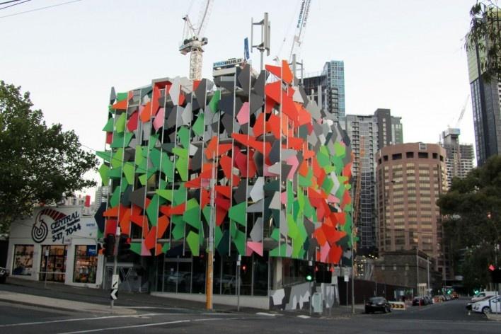 Pixel building<br />Foto Gabriela Celani