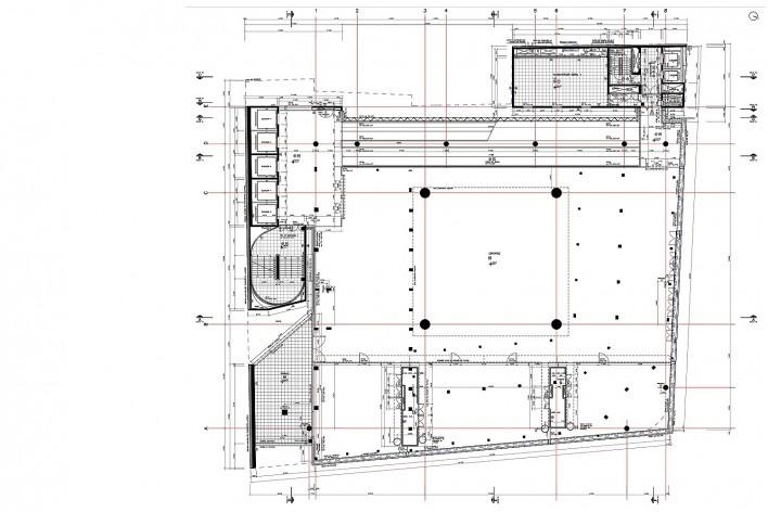 Sesc 24 de Maio, 8º pavimento, esportes, Paulo Mendes da Rocha + MMBB Arquitetos, São Paulo<br />Imagem divulgação