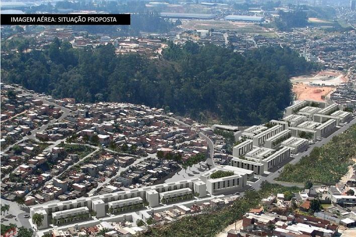 Imagem Aérea: Situação Proposta<br />Imagem Vigliecca & Associados