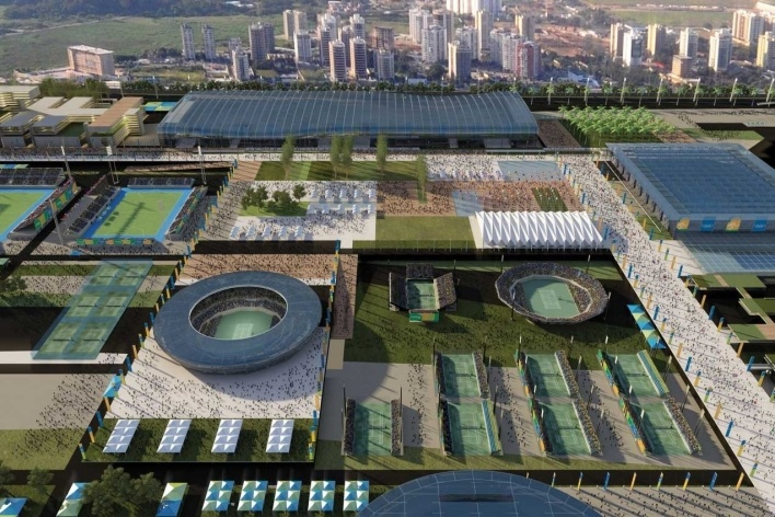Olympic Tennis Center<br />Rio 2016/BCMF Arquitetos