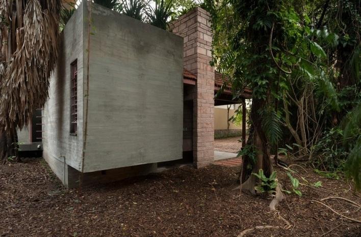 Casa Lutzenberger, arquivo morto. Reforma Kiefer arquitetos