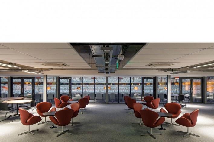 Lounge VIP<br />Foto Leonardo Finotti