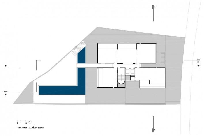 Residencial Huma Klabin, planta 1opavimento, Vila Mariana, São Paulo, 2016, escritório UNA Arquitetos <br />Imagem divulgação