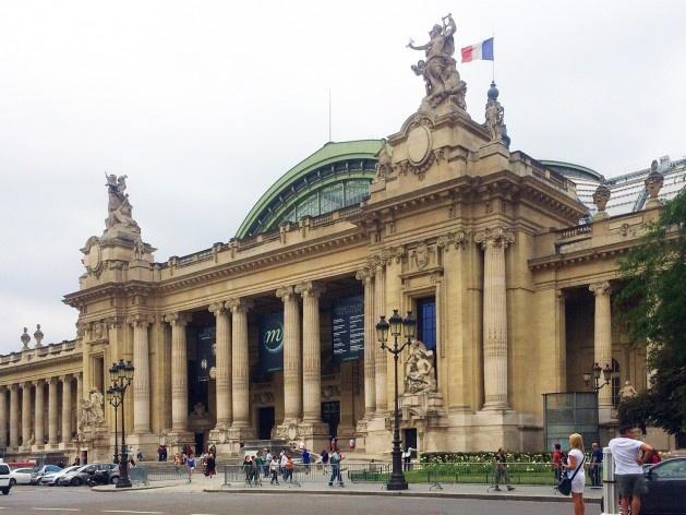Grand Palais, Paris, França<br />Foto Thiago Costa, 2015