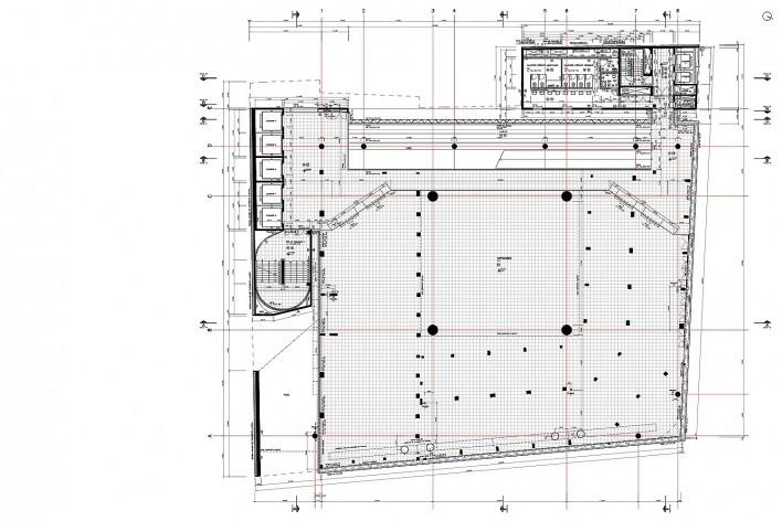 Sesc 24 de Maio, 5º pavimento, exposições, Paulo Mendes da Rocha + MMBB Arquitetos, São Paulo<br />Imagem divulgação