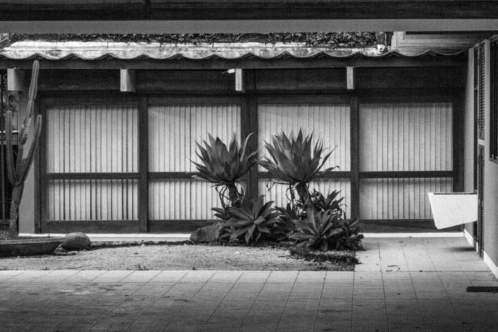 Residência da Rua Lages, Joinville SC. Arquiteto Luis Napoleão Carias de Oliveira