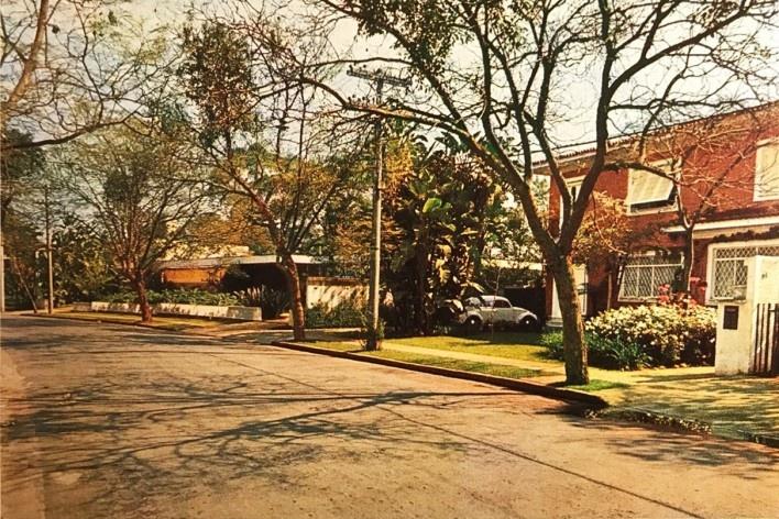 Casas em São Paulo<br />Foto Marcel Goutherot