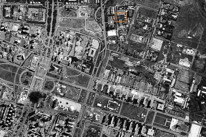 Nova sede da Confederação Nacional de Municípios – CNM, localização, Brasília DF, 2016. Arquitetos Luís Eduardo Loiola e Maria Cristina Motta / Mira Arquitetos<br />Desenho divulgação