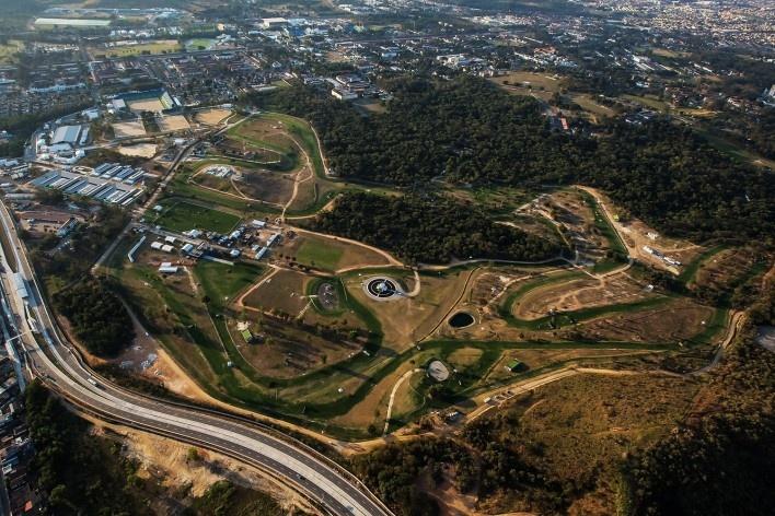 Centro Olímpico de Hipismo, Parque Olímpico de Deodoro, Rio de Janeiro, RJ, Escritório Vigliecca & Associados<br />Foto Renato Sette Camara