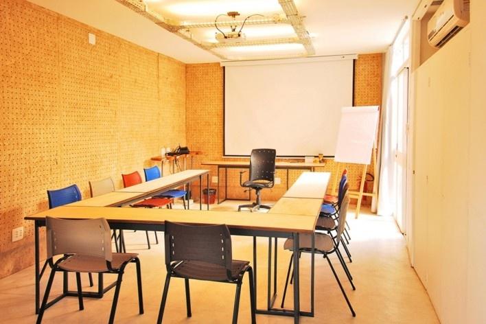Wikilab Coworking, espaço de treinamento, São Carlos, 2016. Arquiteto José Calijuri Hamra<br />Foto divulgação