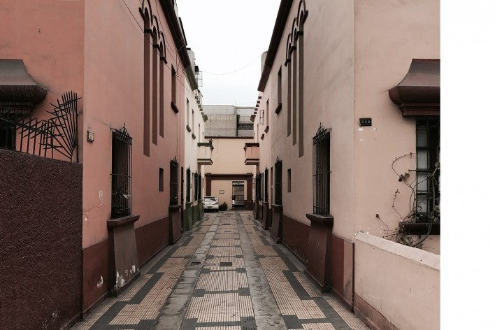 Vila residencial em José Pardo, Miraflores, Lima<br />Foto José Lira