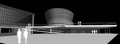 Vista da Câmara de Vereadores<br />Imagem dos autores do projeto