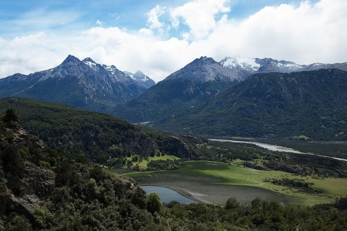 Entre Coyhaique e Reserva Nacional Cerro Castillo<br />Foto Diana Souza