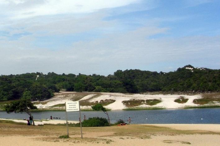 Lagoa do Abaeté em Salvador<br />Foto Abilio Guerra