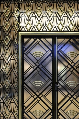 Porta de entrada (ver nota 2)<br />Foto Georges de Kinder  [Ma² - Metzger and Partners Architecture]
