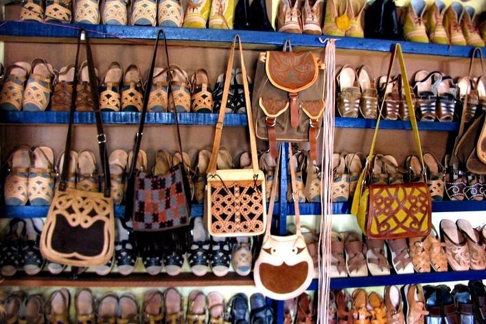 Nova Olinda, loja de artesanato<br />Foto Maísa Starck