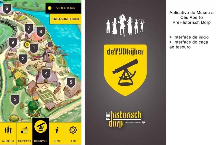 Aplicativo para ser usado durante a visita ao museu<br />Foto Ana Carolina Brugnera / Lucas Bernalli Fernandes Rocha